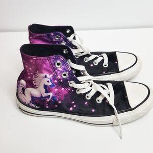 Unicorn High-Top Converse Shoes